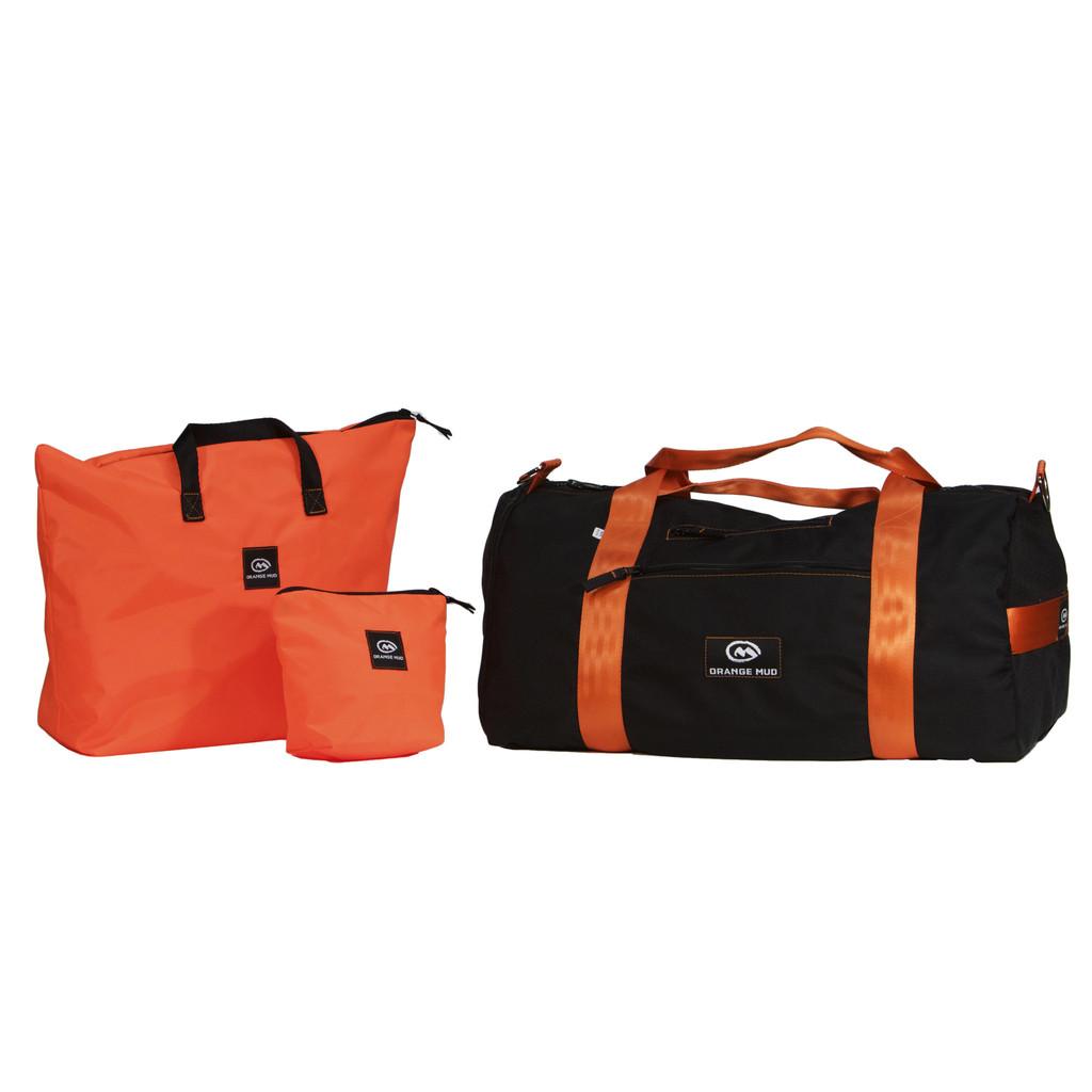 a9ed813e9f Product Review  Orange Mud Duffel Gym Bag